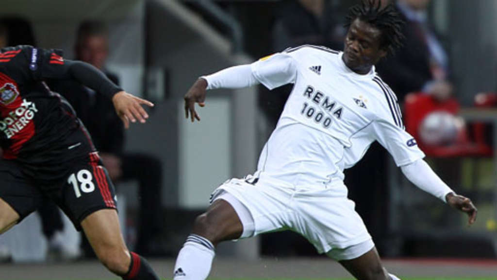 Anthony Annan (r.) ist Nationalspieler Ghanas