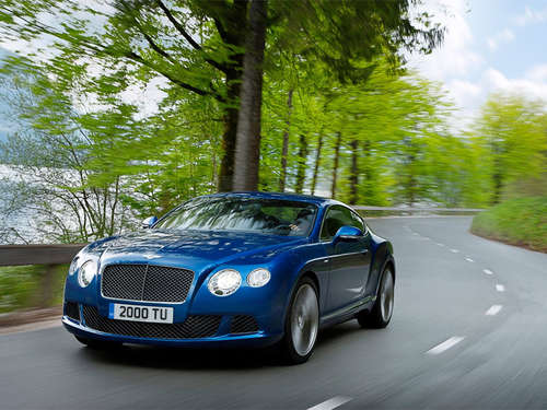 625 PS: Bentley Continental GT Speed Coupé