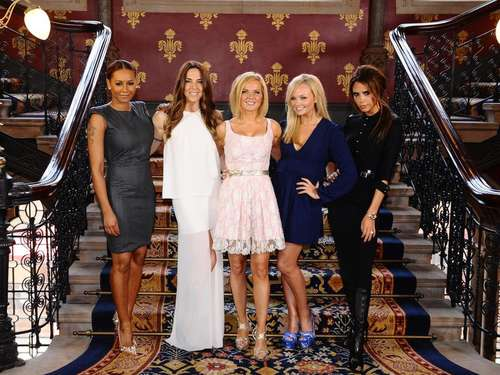 Spice Girls stellen ihr Musical in London vor