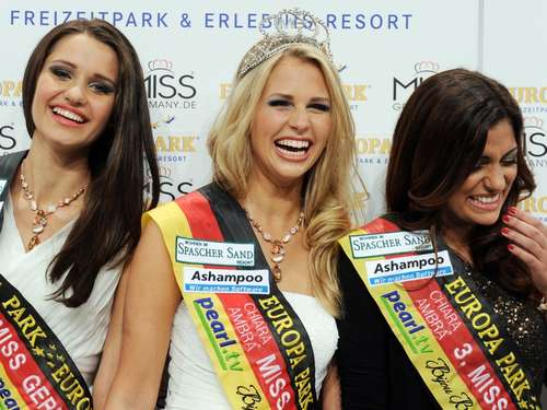 "Mathe-Studentin ist neue ""Miss Germany"""