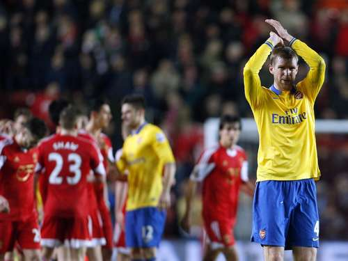 Arsenal patzt in Southampton