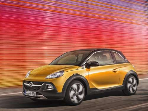 Opel Adam Rocks: Ein Rocker im Paradies