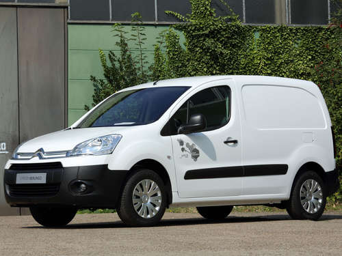 Citroën Berlingo Electric für Schornsteinfeger