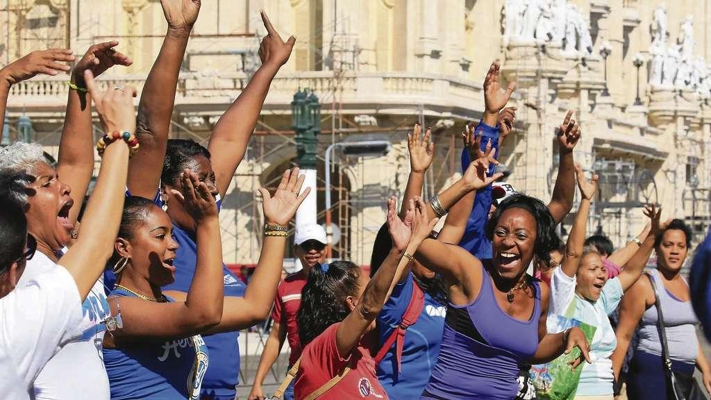 Kuba frauen treffen