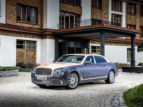 Ab 351 526 Euro: Bentley Mulsanne als Langversion