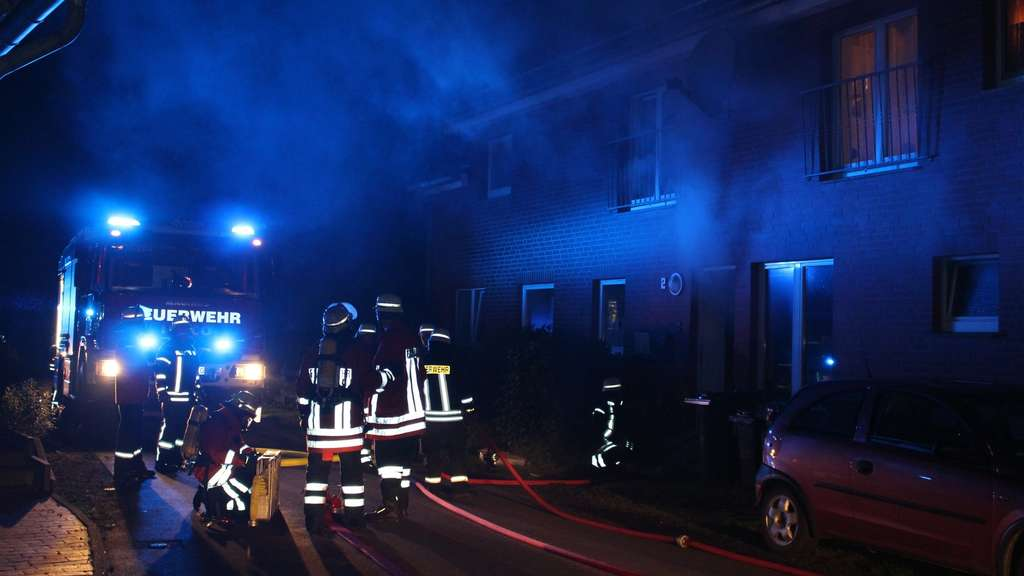 Wohnungsbrand in Bad Rehburg