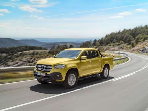 Mercedes X-Klasse will den Pick-up-Markt aufmischen