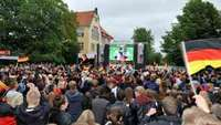 Weltmeisterschaft: Public Viewing in Nienburg