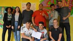 "Rapper Drob Dynamic aus Berlin gibt Workshop im Jugendzentrum ""Conexxxx"""