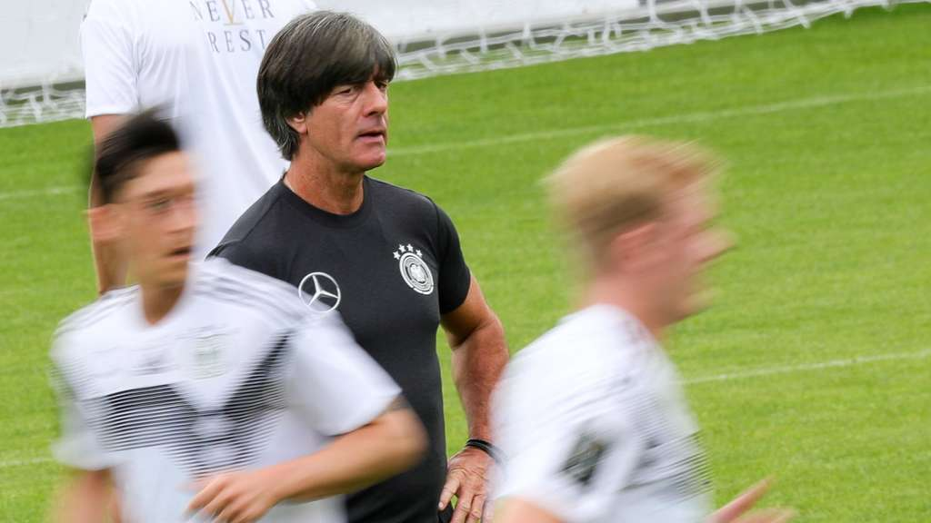 Trainingslager Nationalmannschaft - Training
