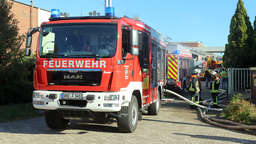 Feuer bei Nabertherm in Lilienthal