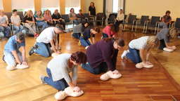"""World Restart a Heart Day"" in Nienburg"