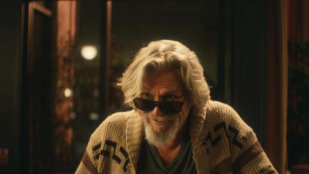 "Jeff Bridges hat als ""The Dude"" Lust auf ein Bier. Foto: Stella Artois/AP"