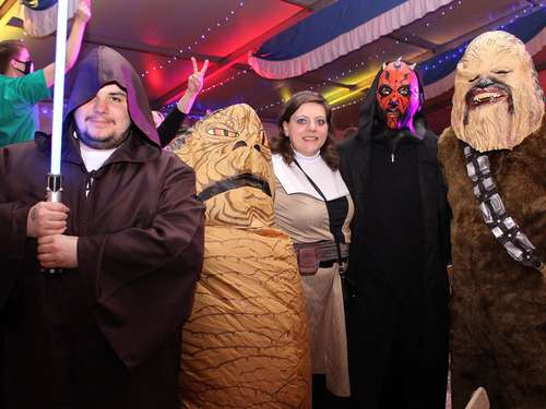 "Karneval in Stolzenau: Party mit ""Captain Jack"" und Jedis"