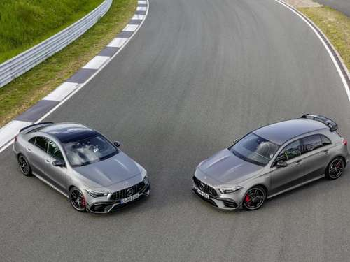 AMG bringt Mercedes A-Klasse und CLA in 45er-Version