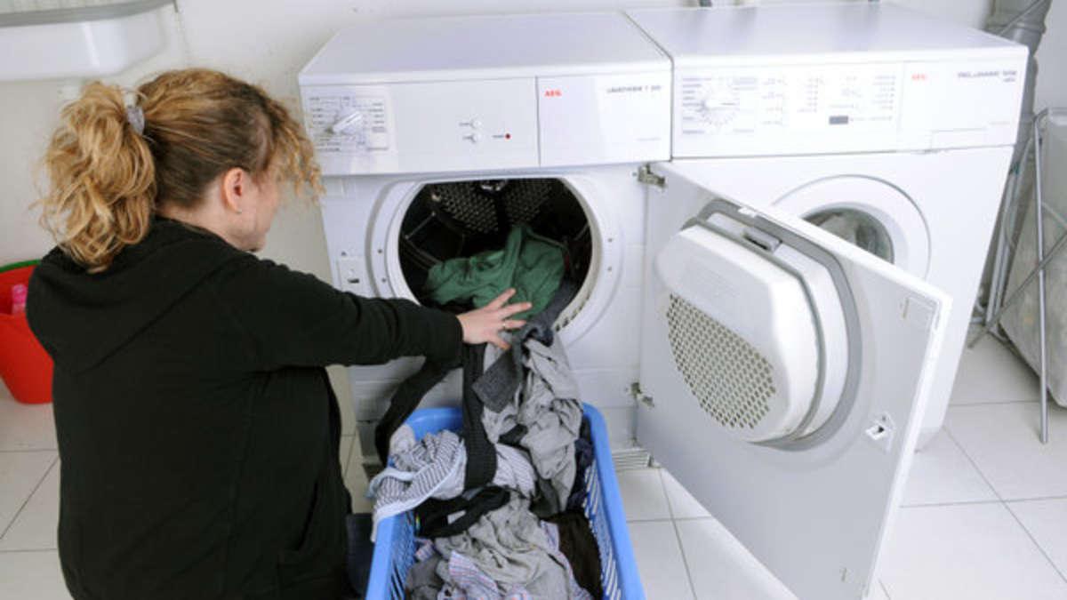 Wäsche Riecht