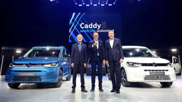VW plant Plug-In-Hybrid-Version des neuen Caddy