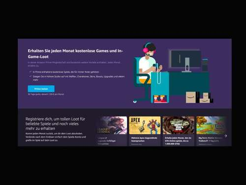 Amazon: Aus Twitch Prime wird Prime Gaming